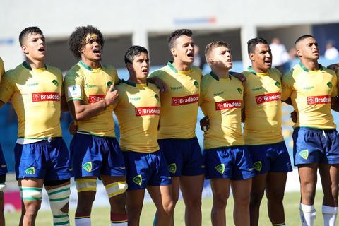 Brasil faz jogo duro contra o Japão no Mundial M20 de rugby, mas não consegue a vitória