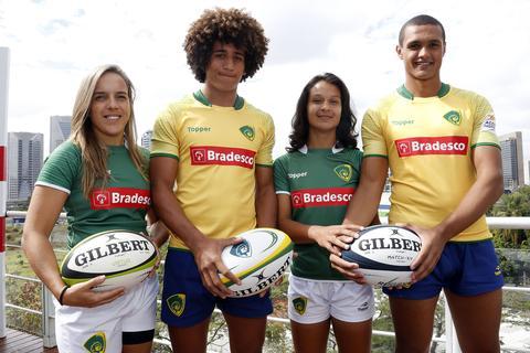 Topper apresenta novas camisas da Seleção Brasileira de Rugby