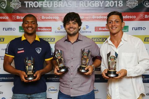 Melhores da temporada 2017 são premiados no Troféu Brasil Rugby