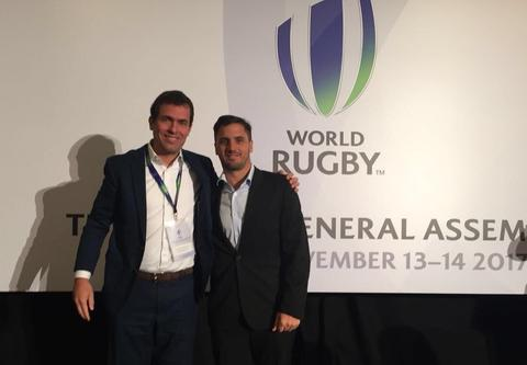 Presidente da CBRu participa de Assembleia da World Rugby