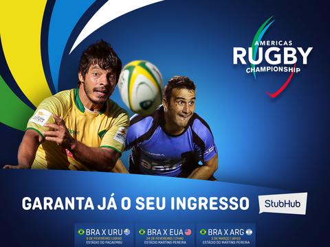 Ingressos para jogos do Brasil no Americas Rugby Championship estão à venda