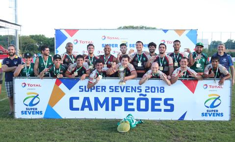 Jacareí é bicampeão do Super Sevens Masculino, apresentado pela Total