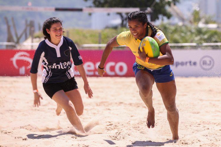 Desafio Internacional de Beach Rugby acontece neste sábado no Rio de Janeiro