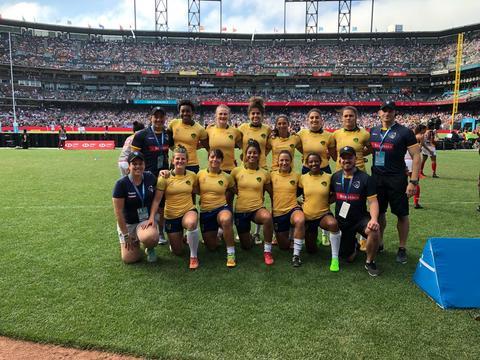 Brasil encerra participação na Copa do Mundo de Rugby 7s na 13º