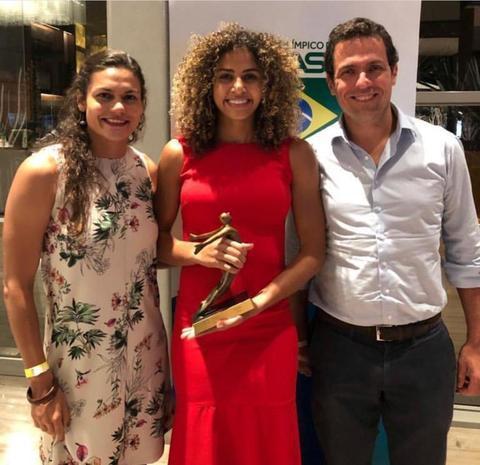 Bianca é eleita a melhor atleta de rugby no Prêmio Brasil Olímpico