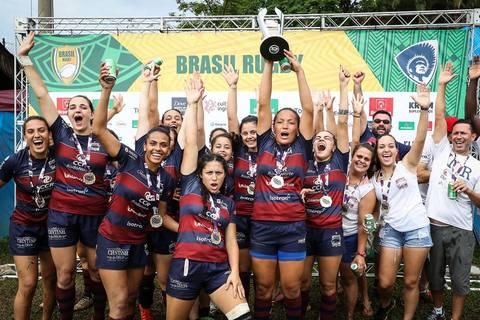 Curitiba é o grande campeão do Super Sevens Feminino
