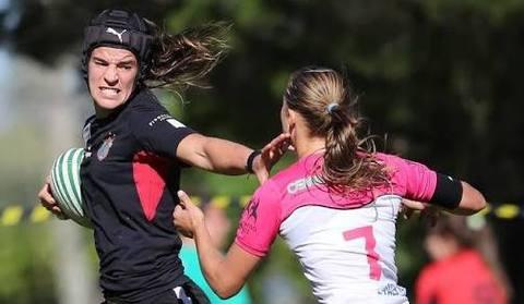 Atletas olímpicas disputam a primeira etapa do Super Sevens Feminino