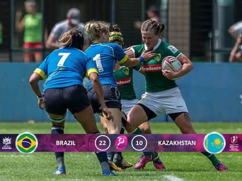 Seleção Brasileira Feminina relacionada para a etapa do Canada da Série Mundial de Sevens