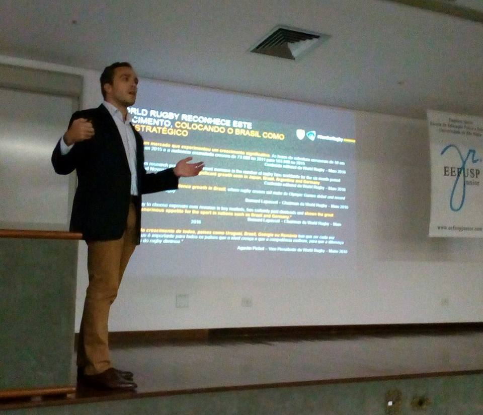CEO da CBRu Realiza Palestra no 3º Workshop de Marketing Esportivo da USP