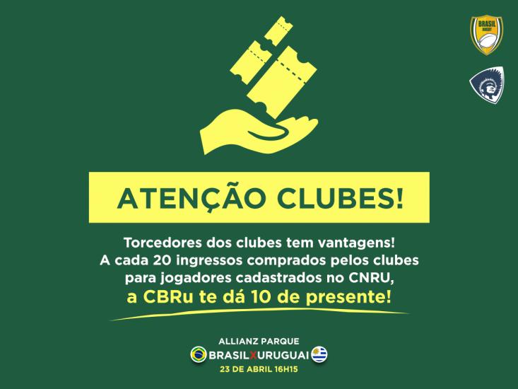 CBRU FAZ PROMOÇÃO PARA OS CLUBES DE RUGBY
