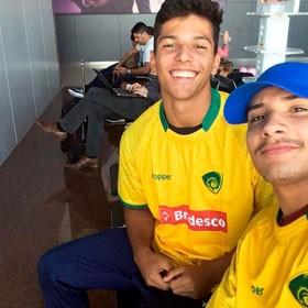 Mais dois atletas da seleção brasileira juvenil foram contemplados com a Bolsa Michel Etlin
