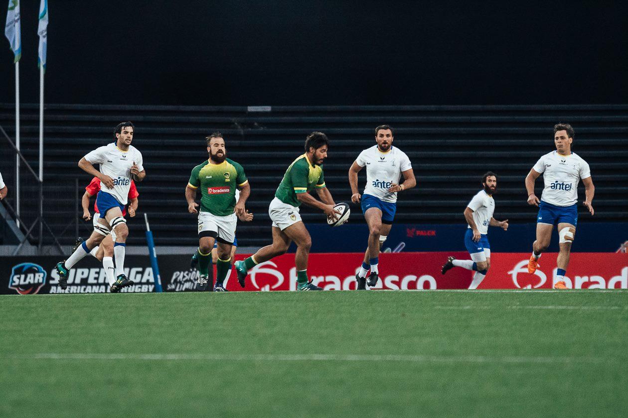 Brasil XV começa na frente, mas toma virada e perde para o Uruguai XV na estreia do Sul-Americano