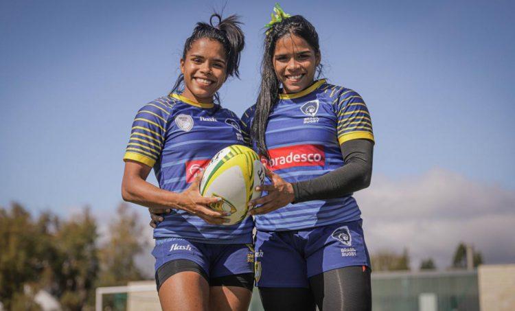 Gêmeas da seleção de rugby combinam força e velocidade na Missão Europa
