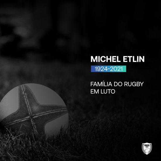 Comunidade rugbier se despede de Michel Etlin (1924-2021)