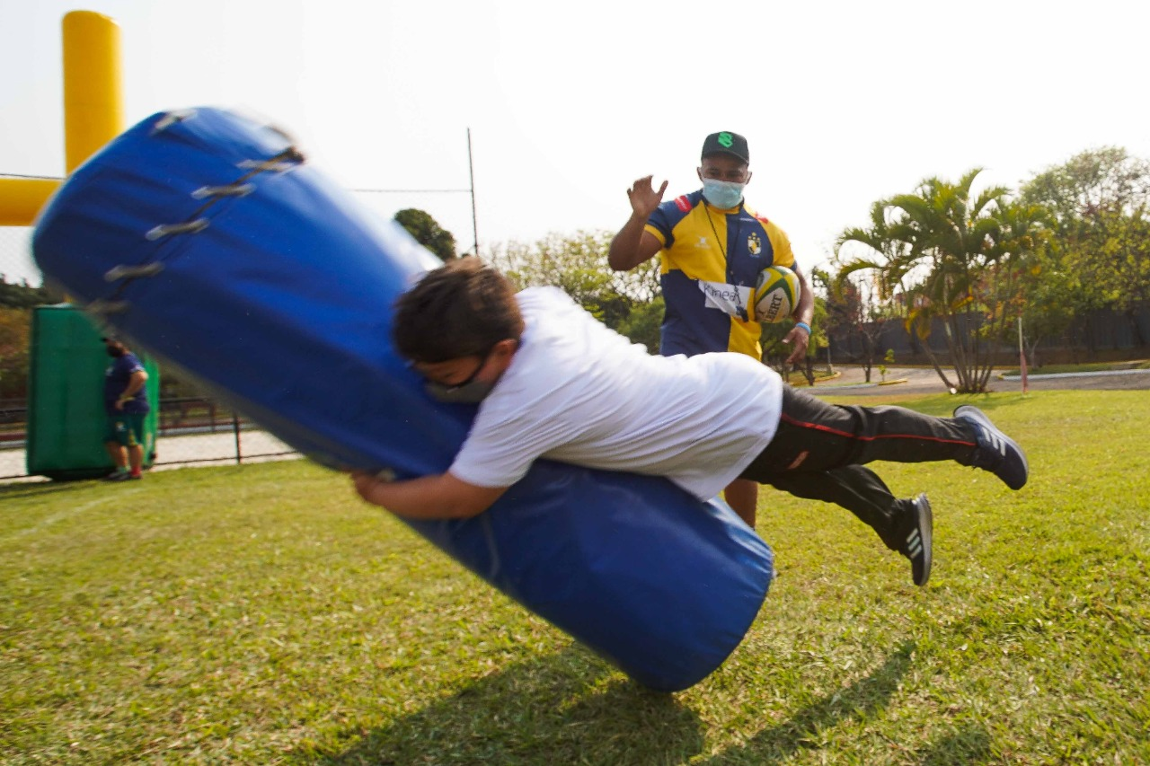 Rugby é destaque da semana para alunos de unidades do SESI Araraquara e Osasco